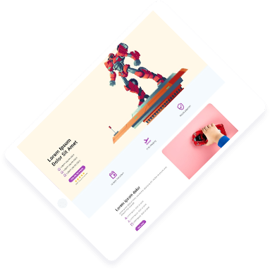 The Ultimate Page Builder for {Merchant, Designer, Agency} and more.